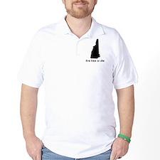 BLACK Live Free or Die T-Shirt