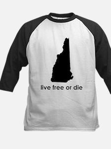 BLACK Live Free or Die Tee