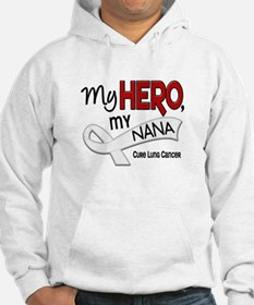 My Hero Lung Cancer Jumper Hoody