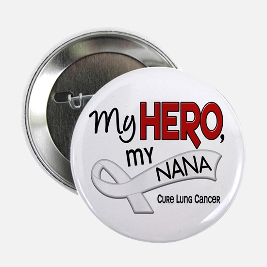 "My Hero Lung Cancer 2.25"" Button (10 pack)"