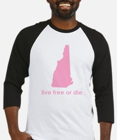 PINK Live Free or Die Baseball Jersey