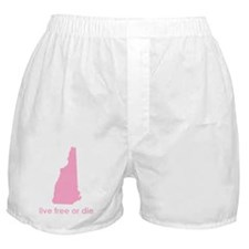 PINK Live Free or Die Boxer Shorts