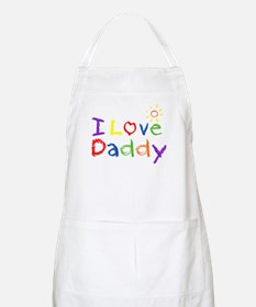 I Love Daddy Apron