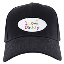 I Love Daddy Baseball Hat
