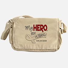 My Hero Lung Cancer Messenger Bag