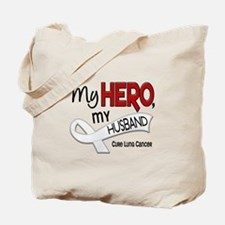 My Hero Lung Cancer Tote Bag