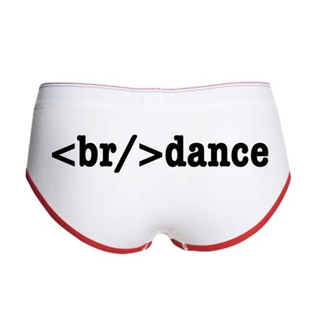 breakdance HTML Women's Boy Brief