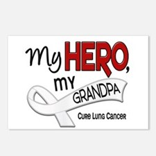 My Hero Lung Cancer Postcards (Package of 8)