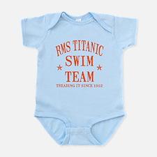 Titanic Swim Team Infant Bodysuit