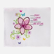 If we love one another Throw Blanket