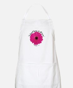 A Friend Loves at all Times Apron