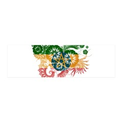 Ethiopia Flag 42x14 Wall Peel