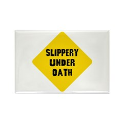 Funny Lawyer Rectangle Magnet (10 pack)