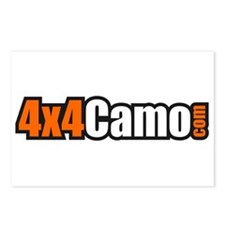 4x4Camo Postcards (Package of 8)