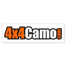 4x4Camo Bumper Sticker