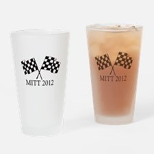 Romney Flags Drinking Glass