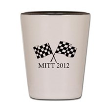 Romney Flags Shot Glass