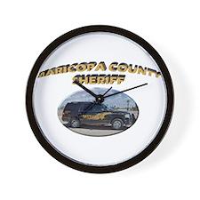 Maricopa Sheriff Wall Clock