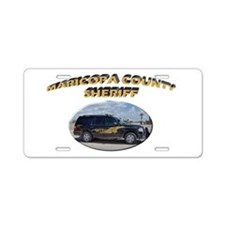 Maricopa Sheriff Aluminum License Plate