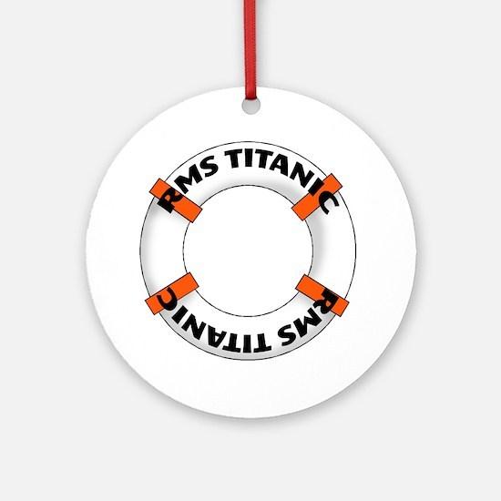 RMS Titanic Ornament (Round)