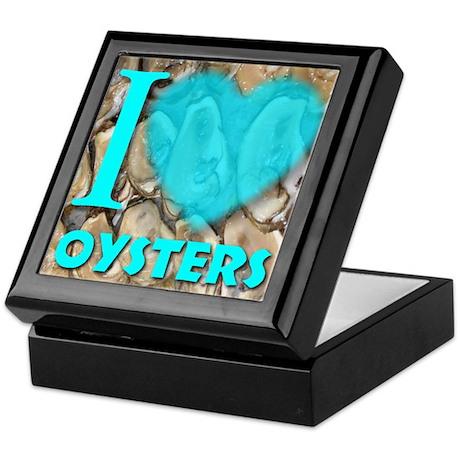 I (Heart) Oysters Keepsake Box