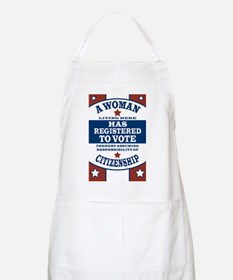 A Woman Votes Apron