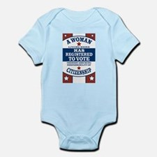 A Woman Votes Infant Bodysuit
