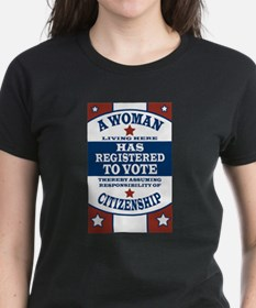 A Woman Votes Tee