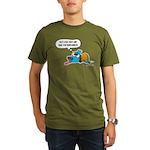 Past Lives Suck Organic Men's T-Shirt (dark)