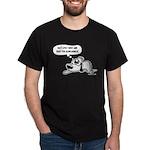 Past Lives Suck - Black and W Dark T-Shirt