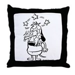 They Just Don't Get It! Black Throw Pillow