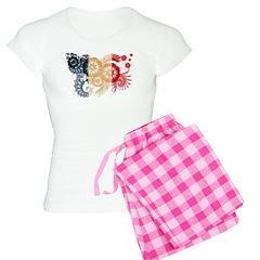 France Flag Pajamas