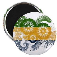 """Gabon Flag 2.25"""" Magnet (10 pack)"""