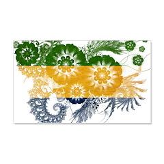 Gabon Flag 22x14 Wall Peel