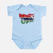 Gambia Flag Infant Bodysuit