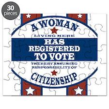 A Woman Votes Puzzle