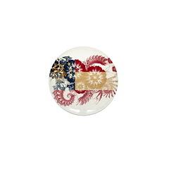 Georgia Flag Mini Button (10 pack)