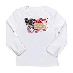 Georgia Flag Long Sleeve Infant T-Shirt