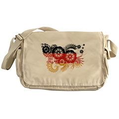 Germany Flag Messenger Bag