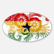 Ghana Flag Decal