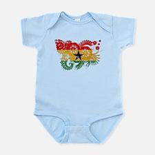 Ghana Flag Infant Bodysuit