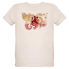 Gibraltar Flag Organic Kids T-Shirt