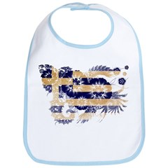 Greece Flag Bib