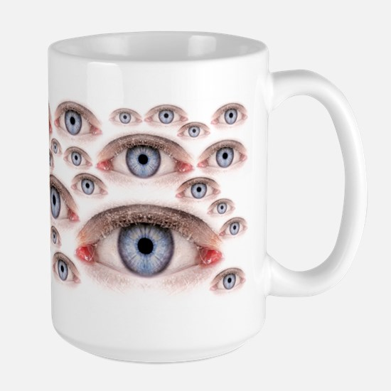 Eyes On You Large Mug