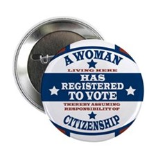 "A Woman Votes 2.25"" Button (10 pack)"