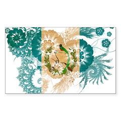 Guatemala Flag Decal