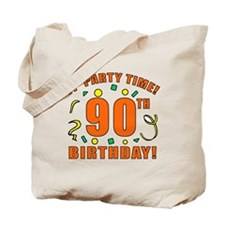 90th Party Time! Tote Bag