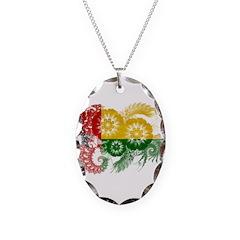 Guinea Bissau Flag Necklace