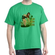 Wild Irish Rose Pinup T-Shirt