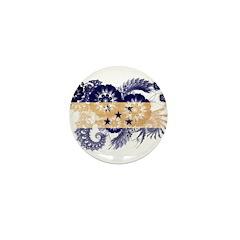 Honduras Flag Mini Button (10 pack)